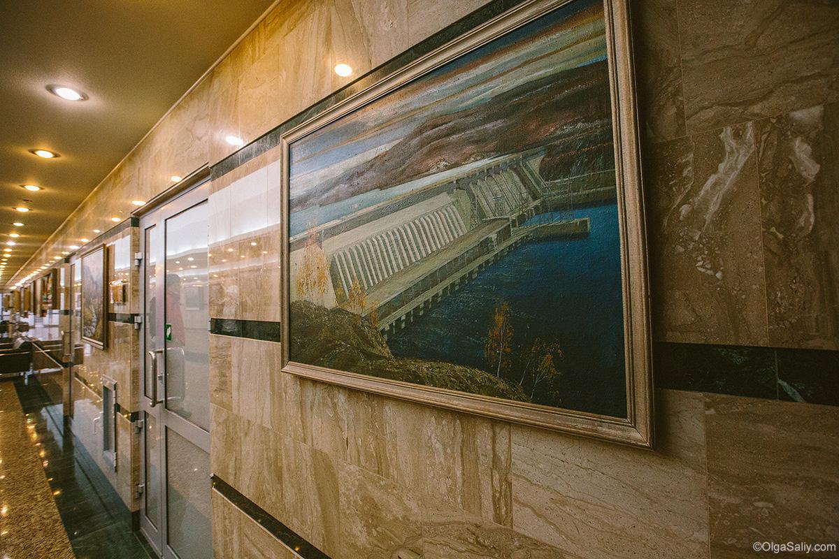 Sayano–Shushenskaya Dam office