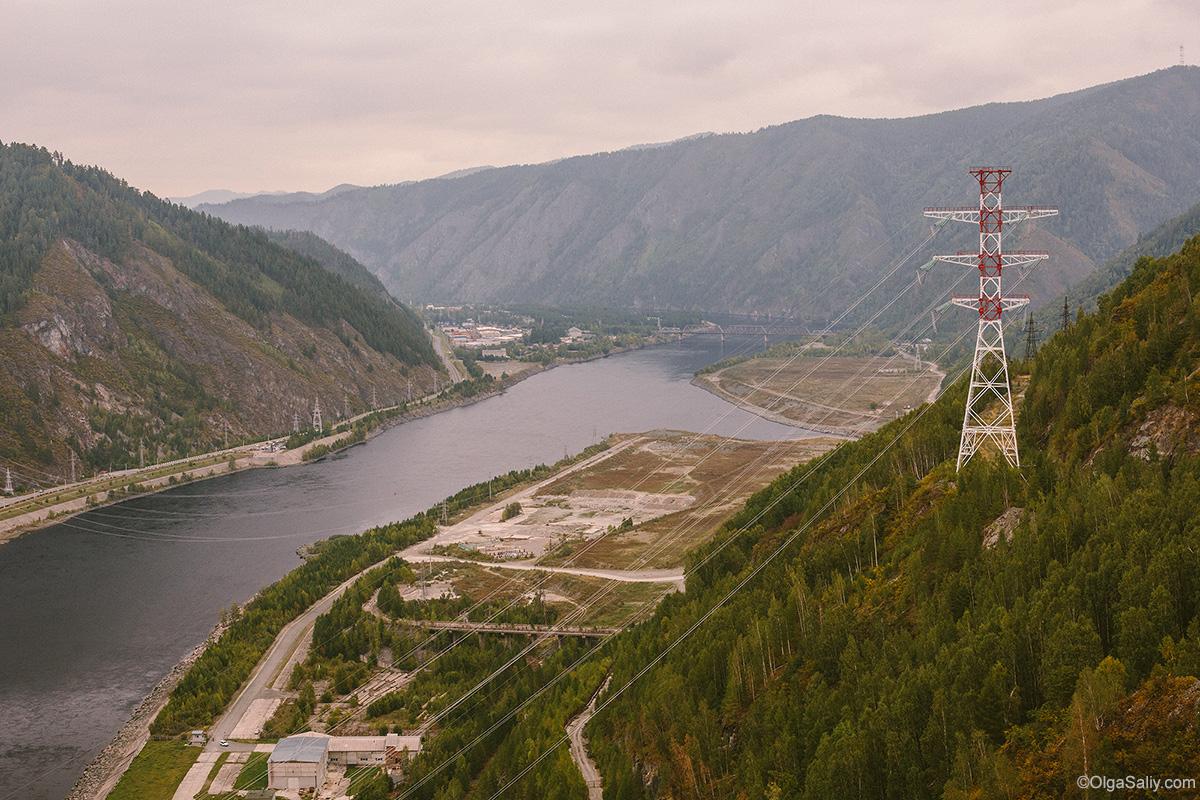 Sayano–Shushenskaya Dam Yenisei