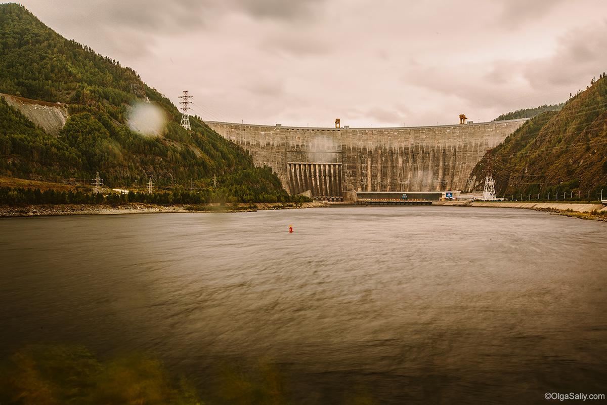Sayano–Shushenskaya Dam Photography