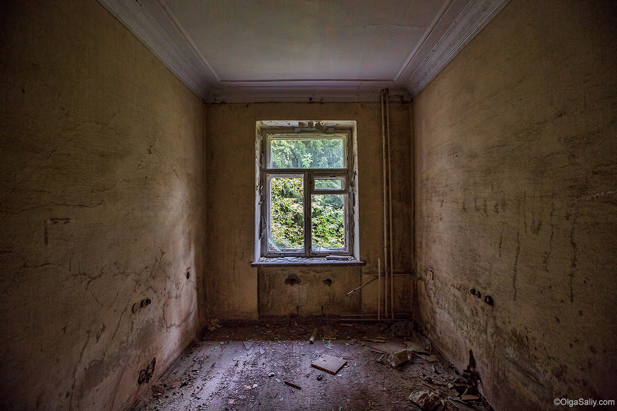 Abandoned room in Resort near Novosibirsk