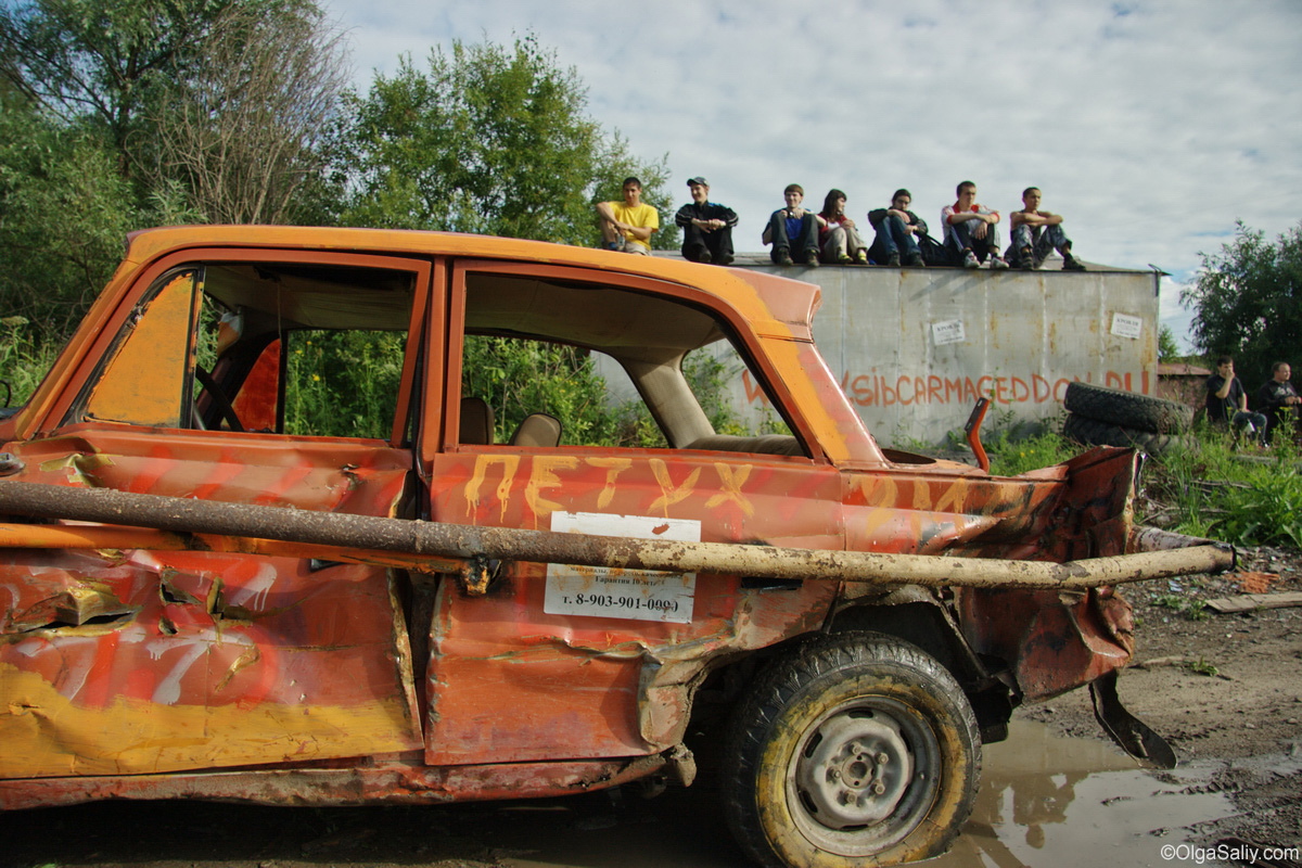 Old Car Russian Race