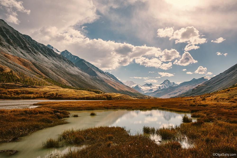 Altai Mountains. Travel in Russia Kosh-Agach