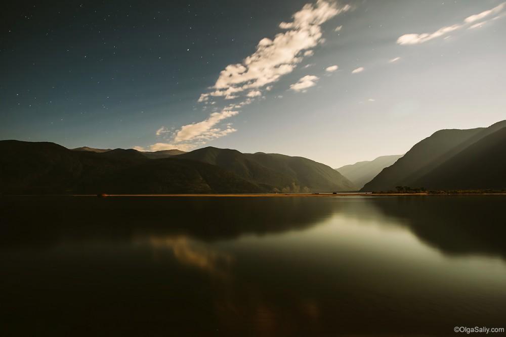 Altai Mountains. Teletskoe lake