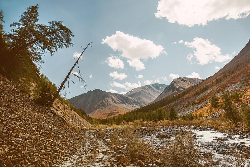 Altai Mountains. Karagem