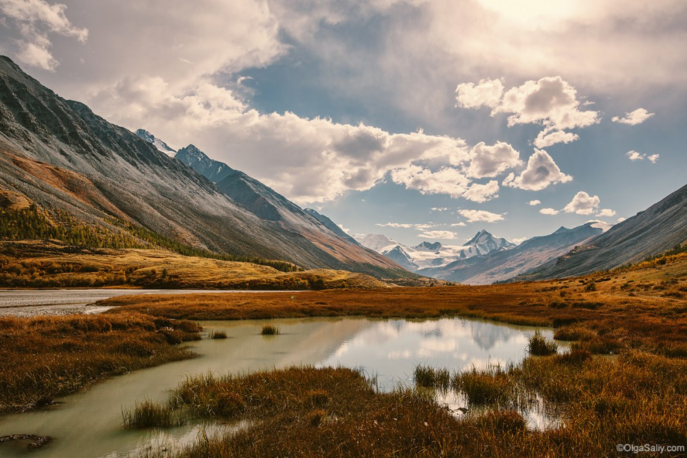 Altai Mountains travel by car