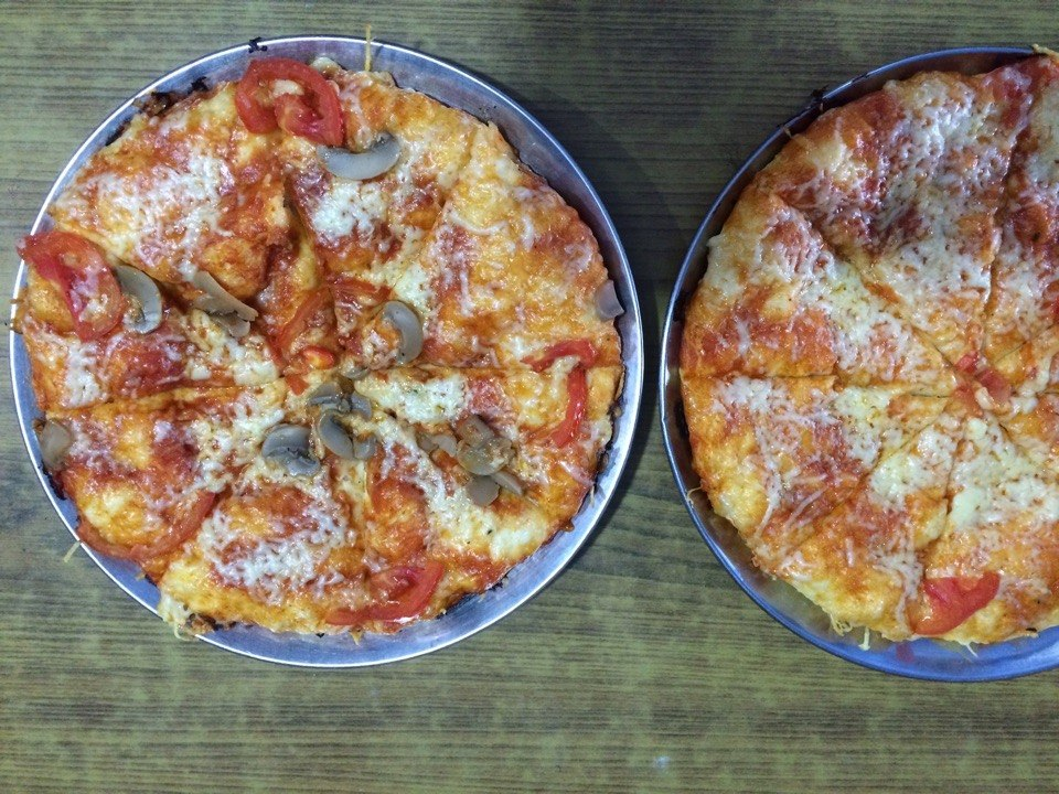 Pizza in Nepal
