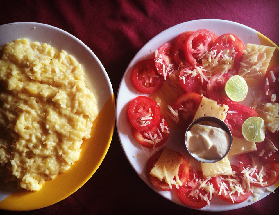 Mash Potato and Tomato, Nepal