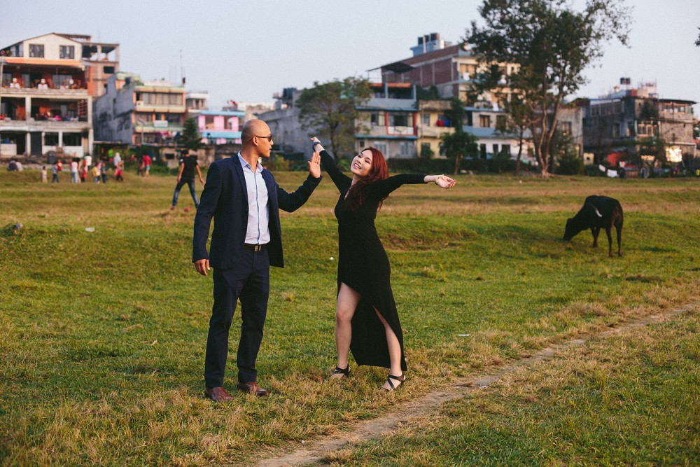 Love story in Pokhara