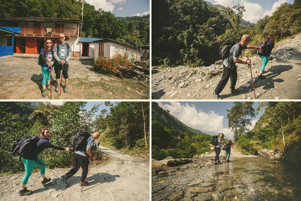 Wedding Photostory Trekking to Poon hill, Nepal (9)
