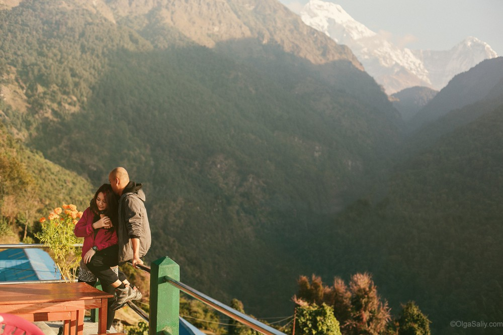 Mountain Nepal Wedding photo