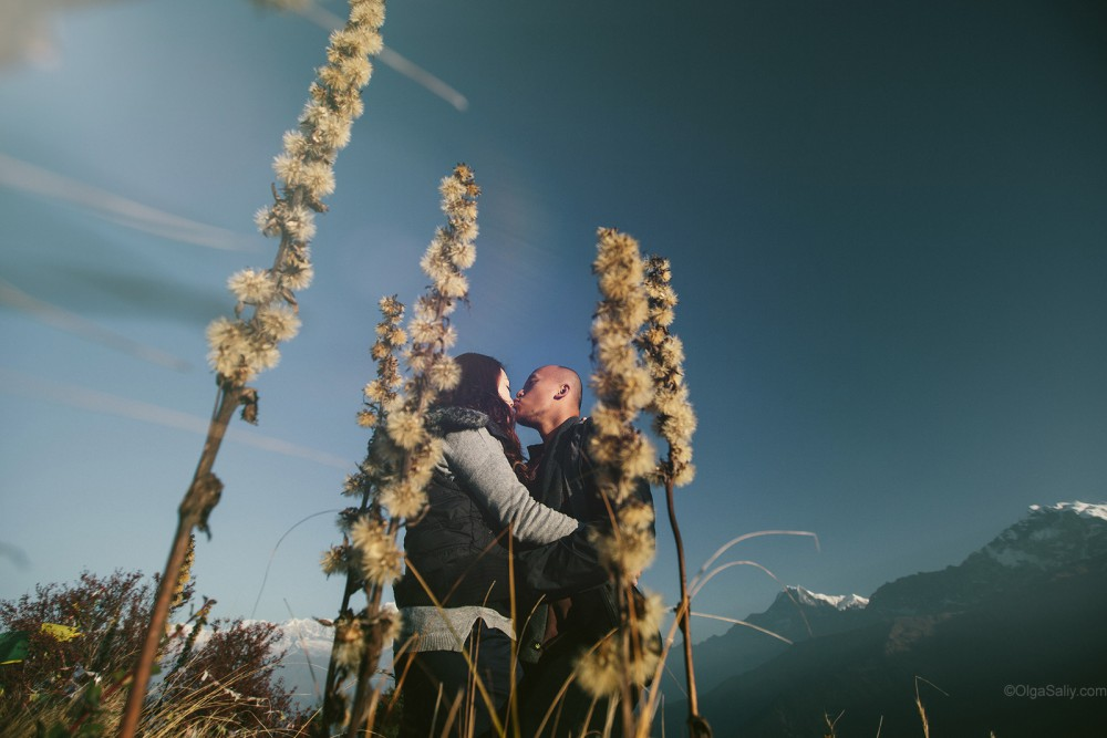 Wedding Photographer in Nepal trek