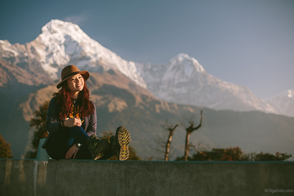 Way to Poon Hill from Pokhara