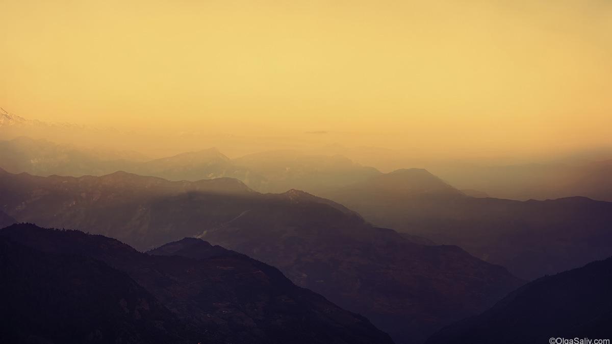 sunrise on Poon Hill Trek (13)