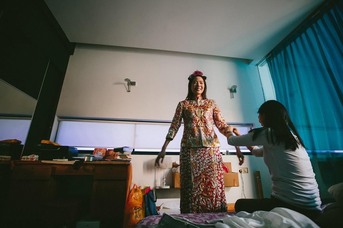 Singapore Wedding Chinese tradition