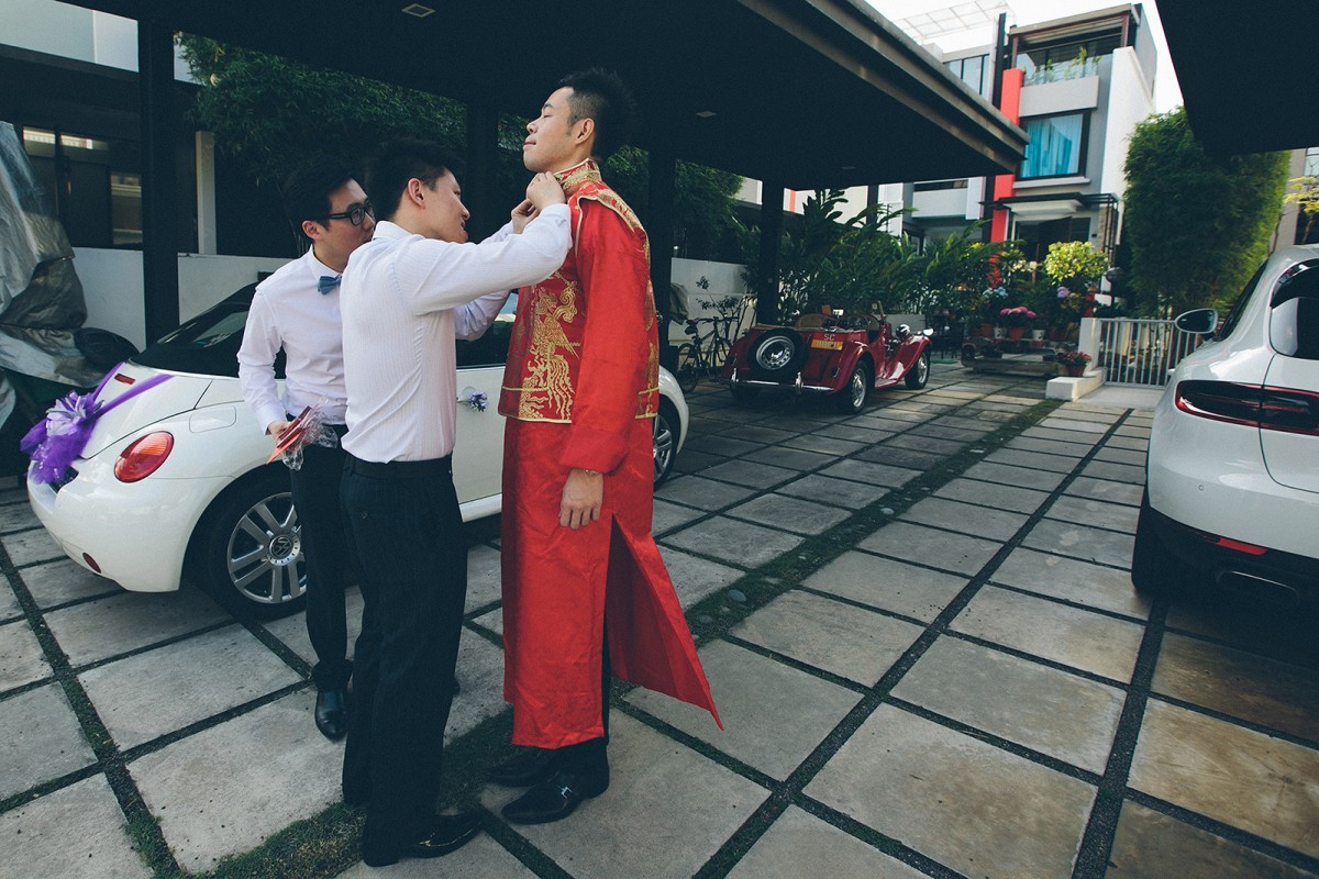 Wedding Chinese tradition