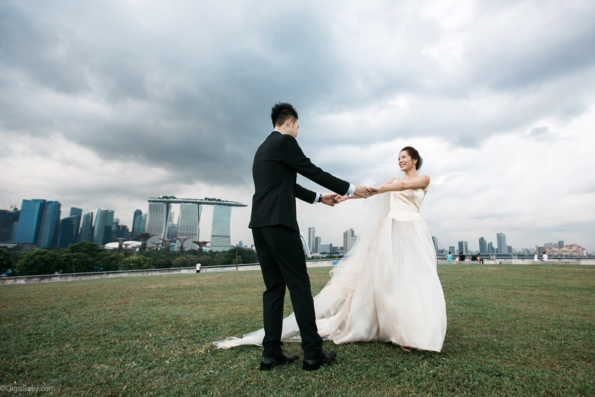 Singapore Wedding Bride and Groom