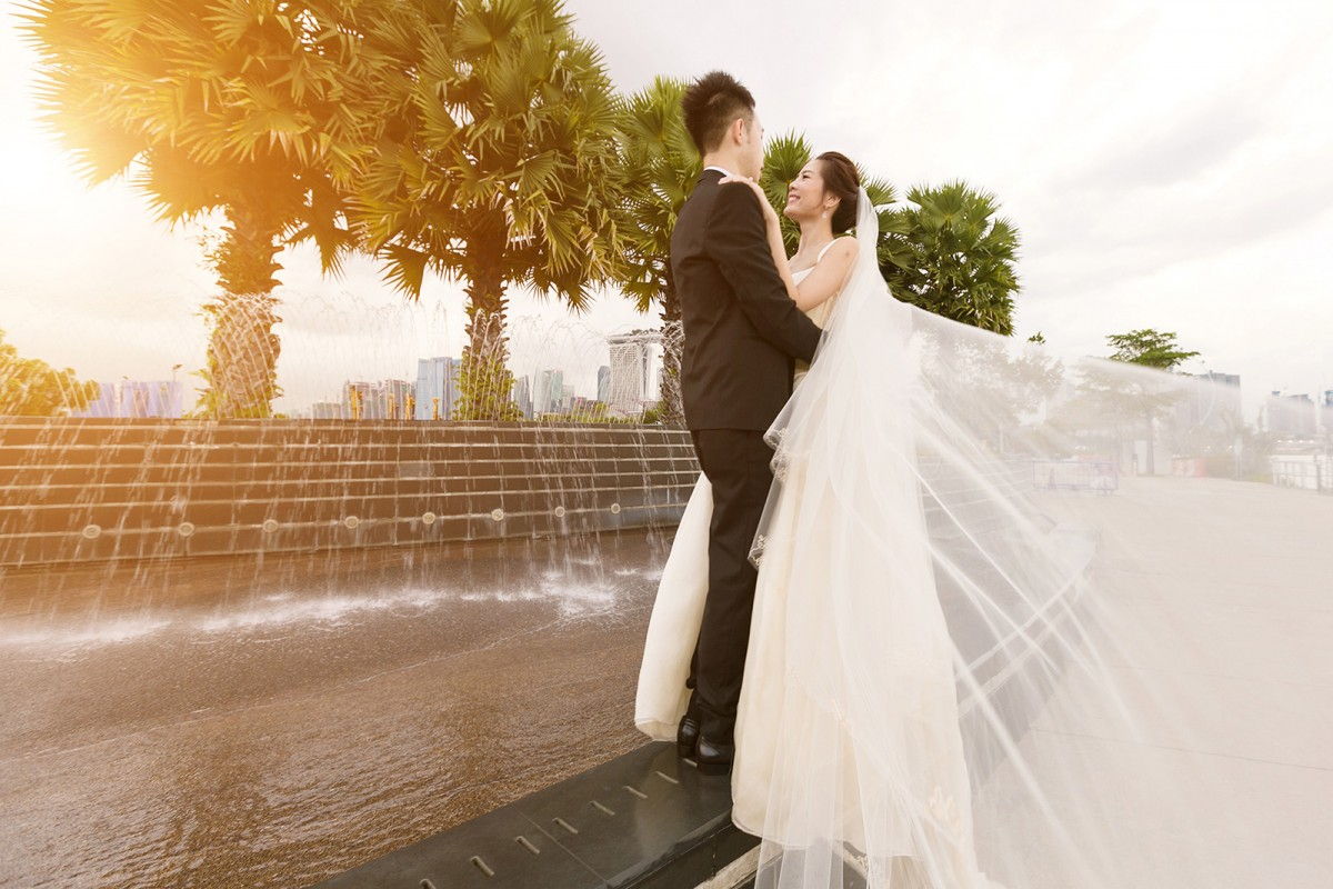 Singapore Wedding Bride and Groom