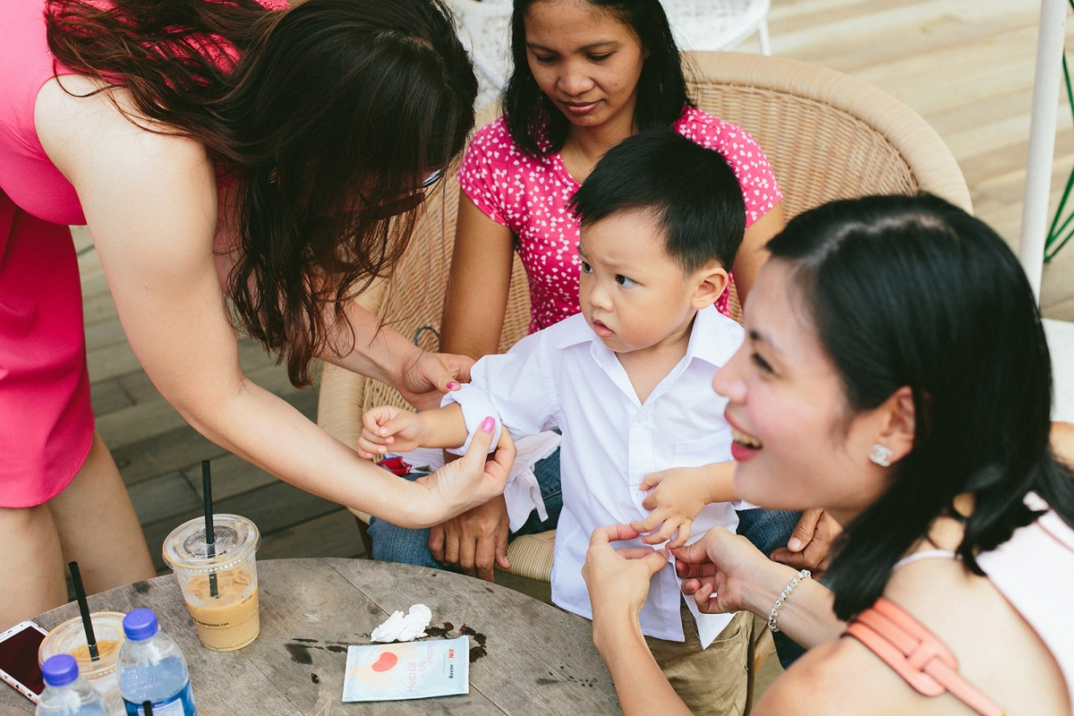 Children on Wedding