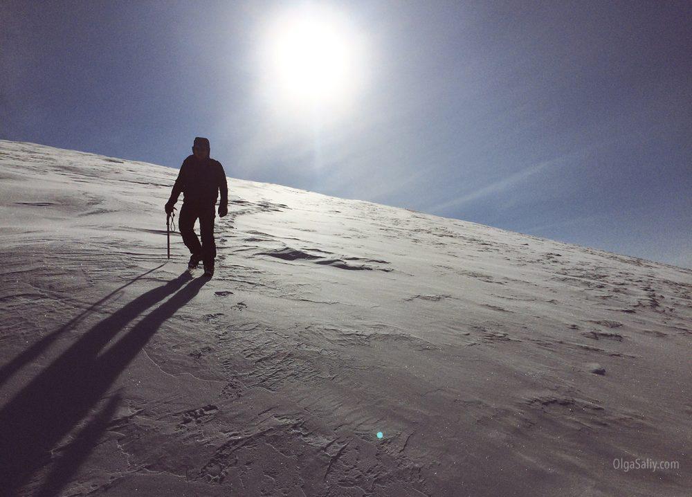 Altai, Kupol mountain top