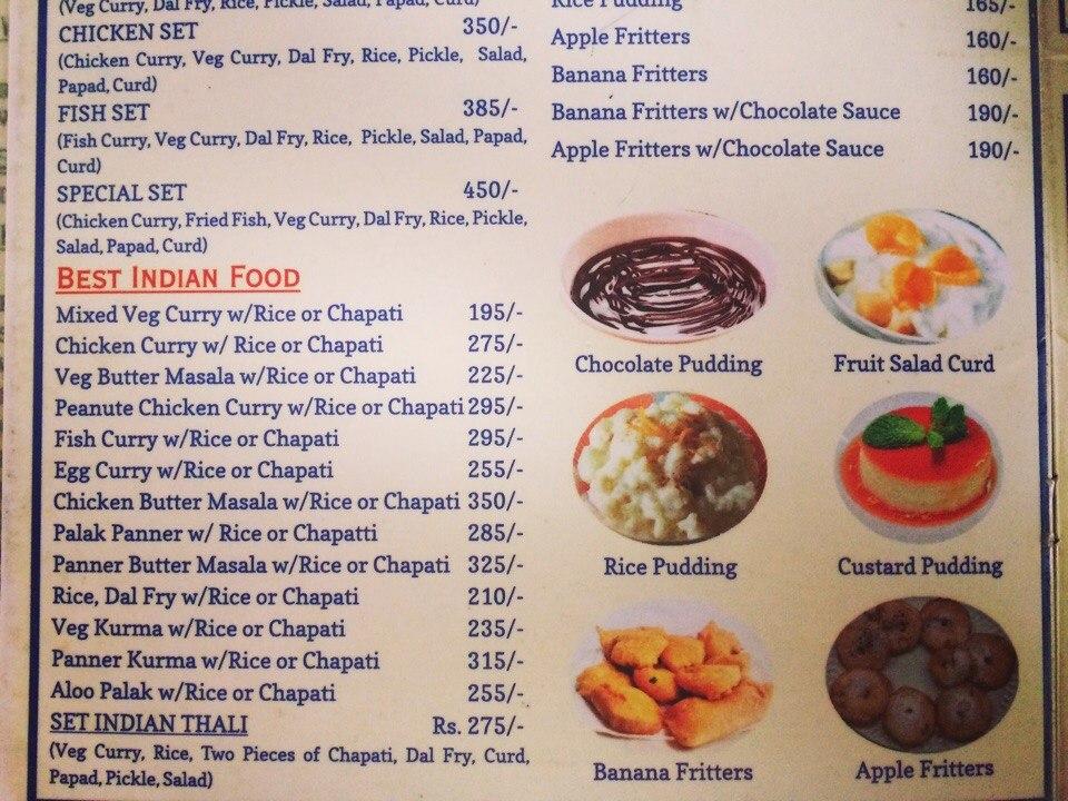 Nepali Food price in Pokhara and Kathmandu