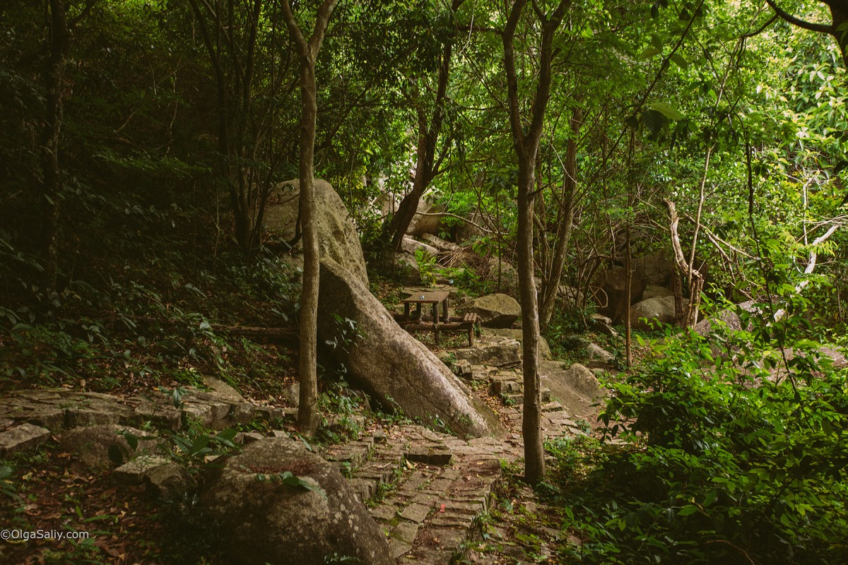 Military caves on guerrilla base Minh Dam Mountain, VungTau, Vietnam (10)