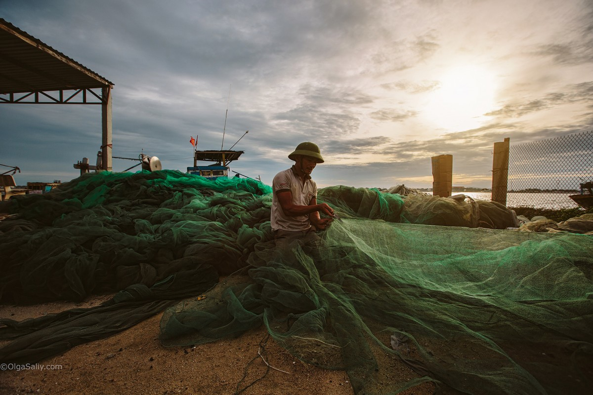 Fisherman in Vungtau
