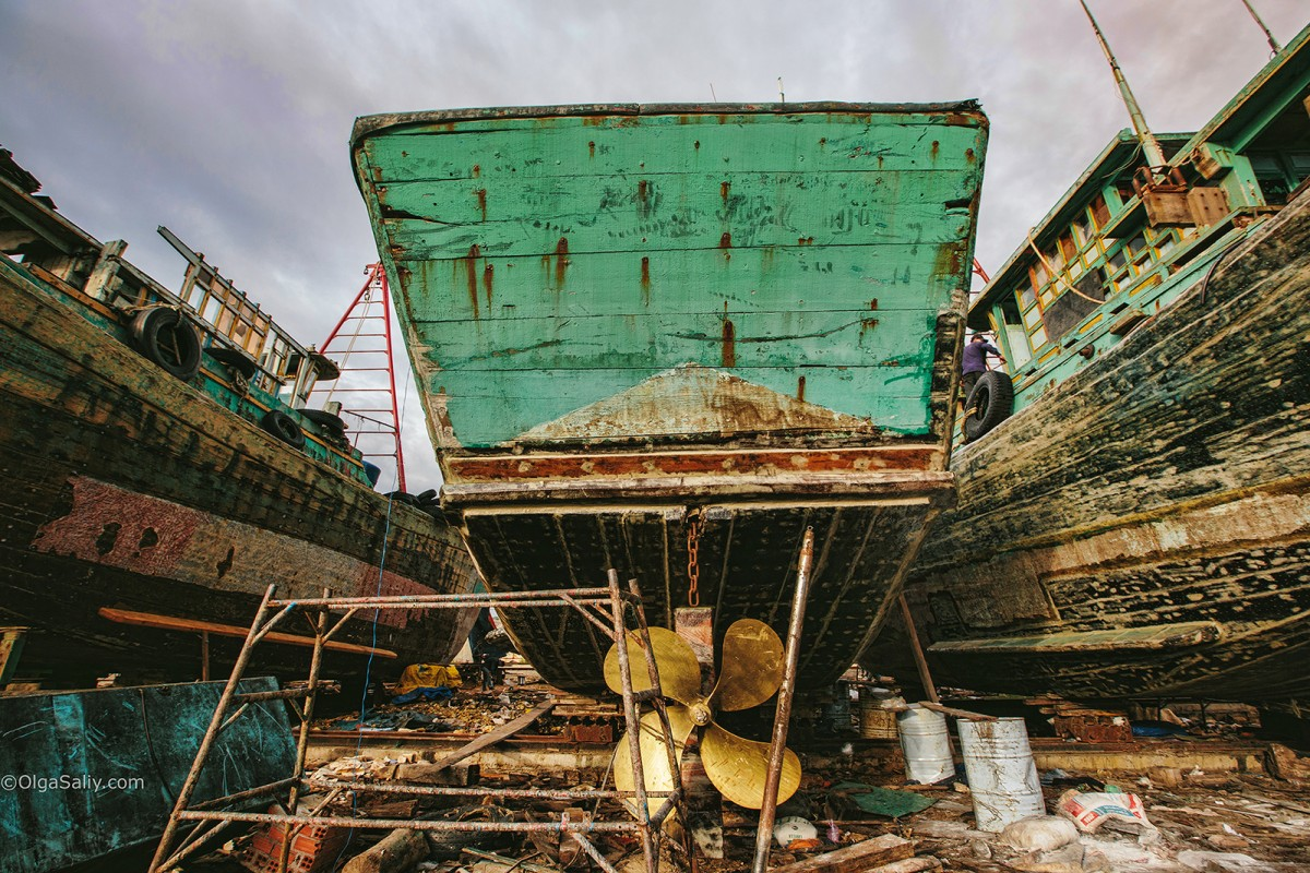 Shipyard in VungTau