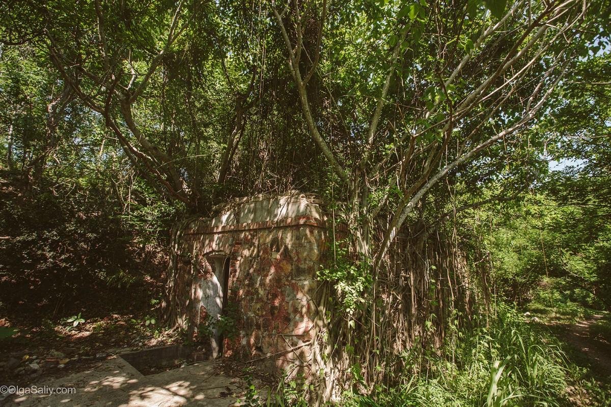 Military abandoned places VungTau