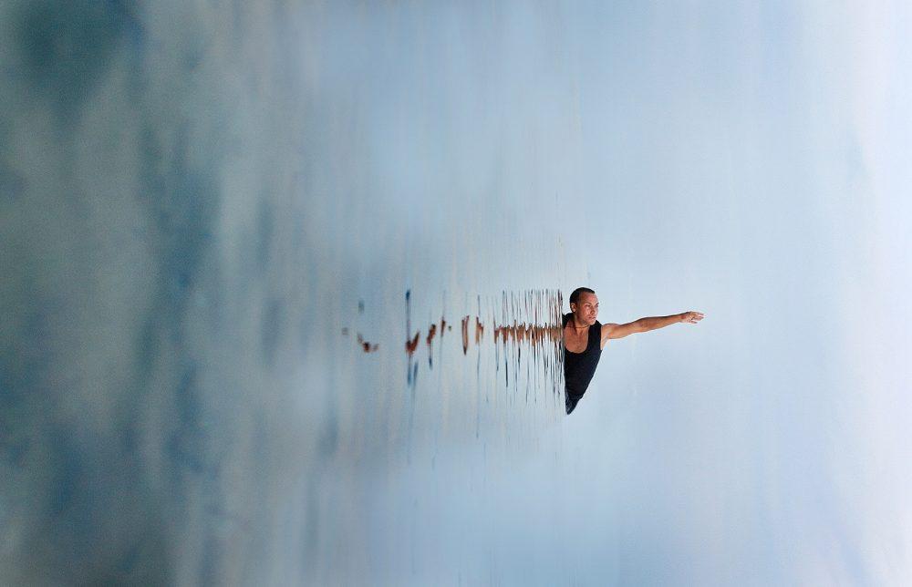 Dancer on the sea