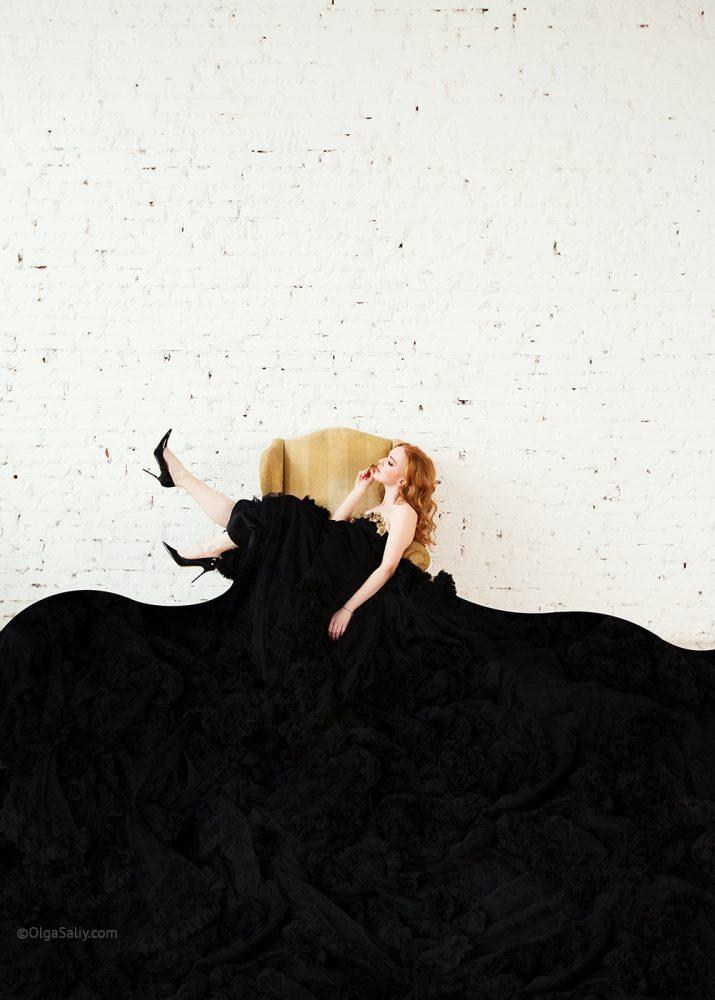 Fashion portrait woman