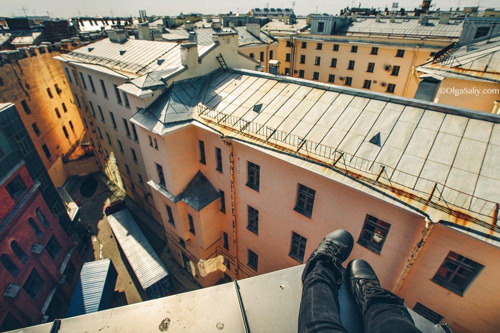 St Petersburg roofs