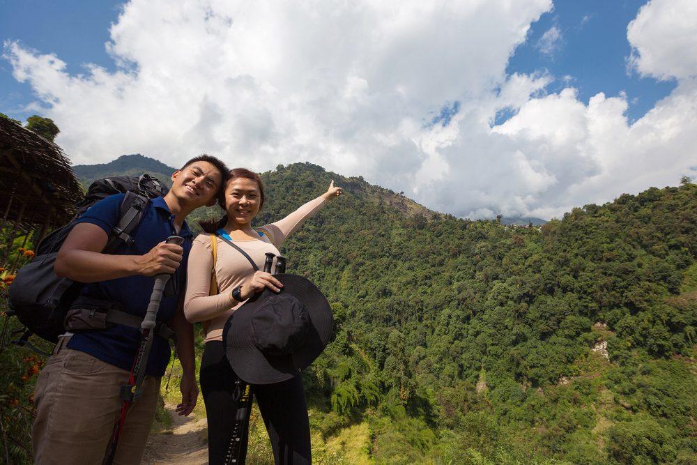 Way to Chomrong Himalaya