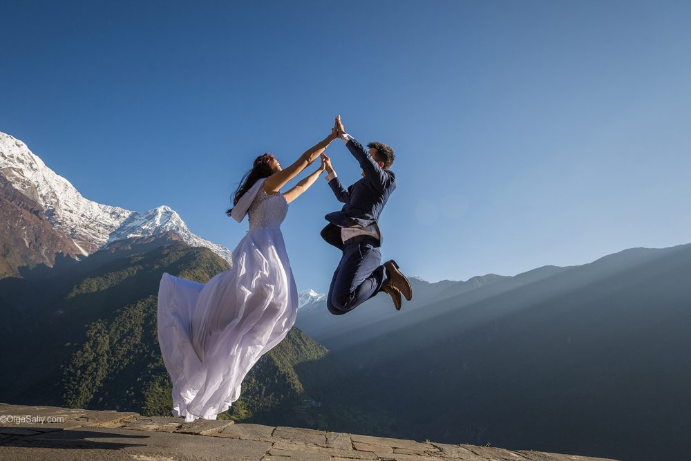 Pre-Wedding Mountain PhotoShoot in Nepal - trekking to Annapurna Base camp (15)