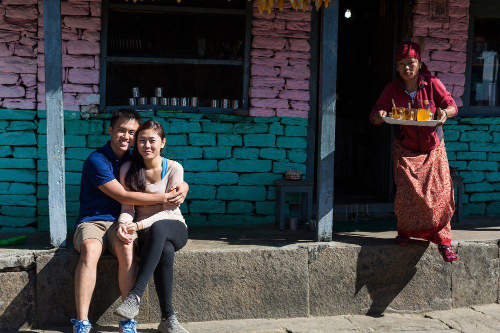 Pre-Wedding Mountain PhotoShoot in Nepal - trekking to Annapurna Base camp (17)