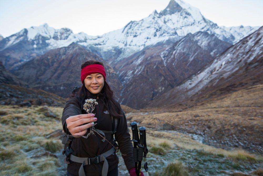 Pre-Wedding Mountain PhotoShoot in Nepal - trekking to Annapurna Base camp (36)