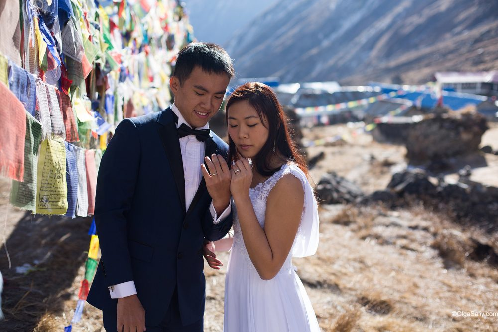 Wedding Photography in Nepal Mountains