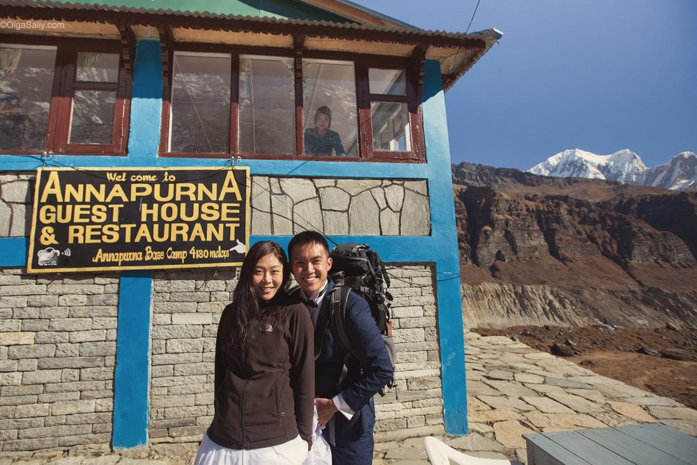 Pre-Wedding Mountain PhotoShoot in Nepal - trekking to Annapurna Base camp (51)