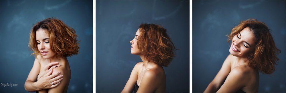 Aria Moore, portrait of singer