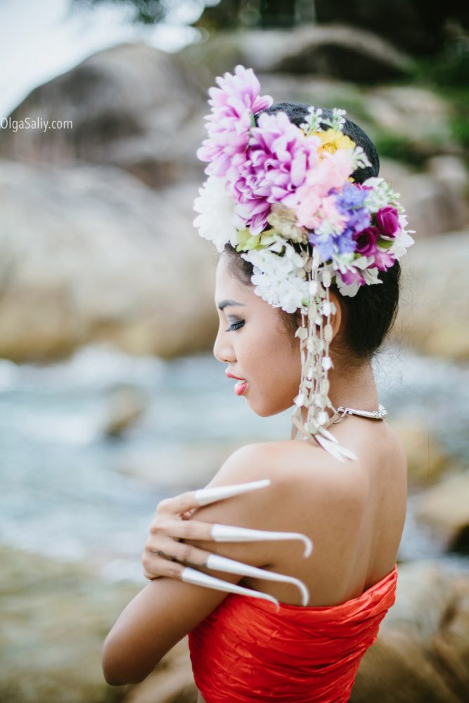 Beautiful Thai woman portrait