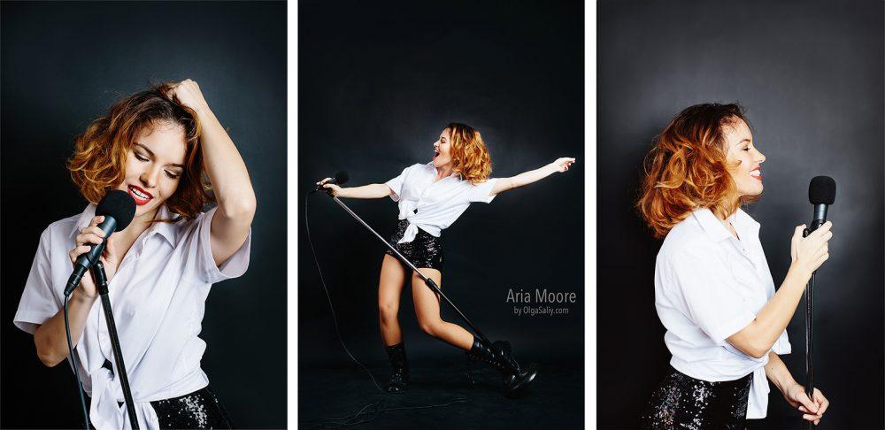 Aria Moore, Russian singer