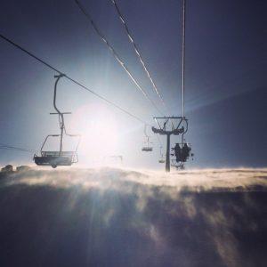 Snowboard in Siberia Sheregesh