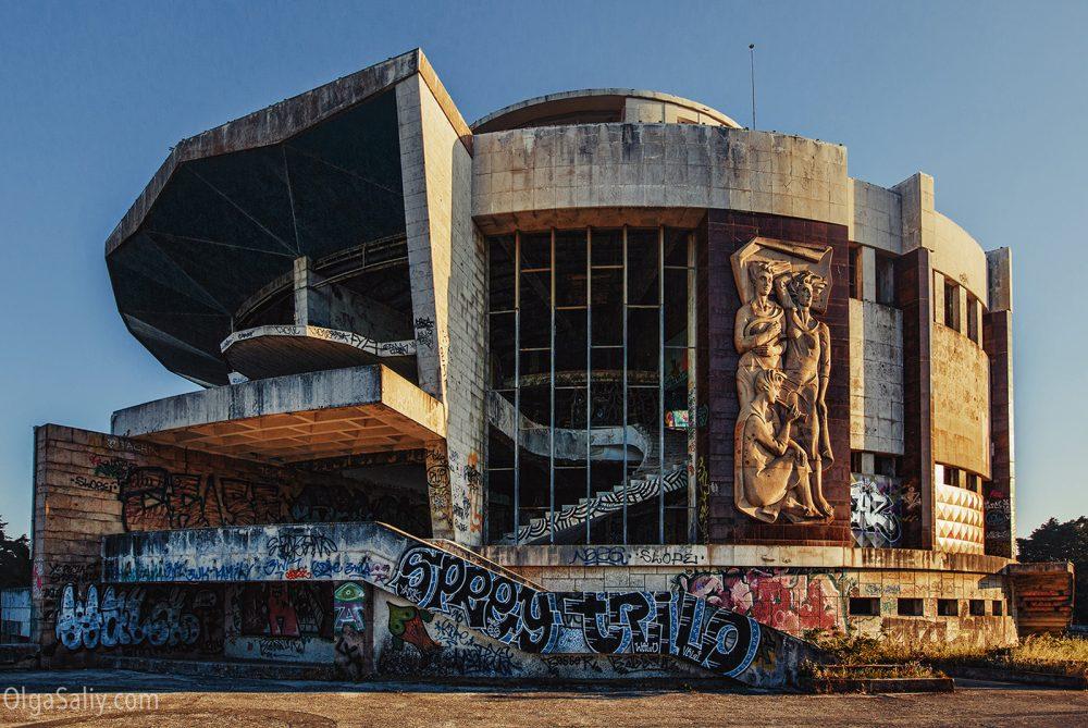 Abandoned Restaurante Panorâmico de Monsanto