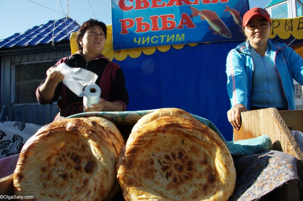 Kyrgyz flatbread
