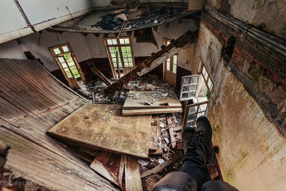 Abandoned places travel in Portugal