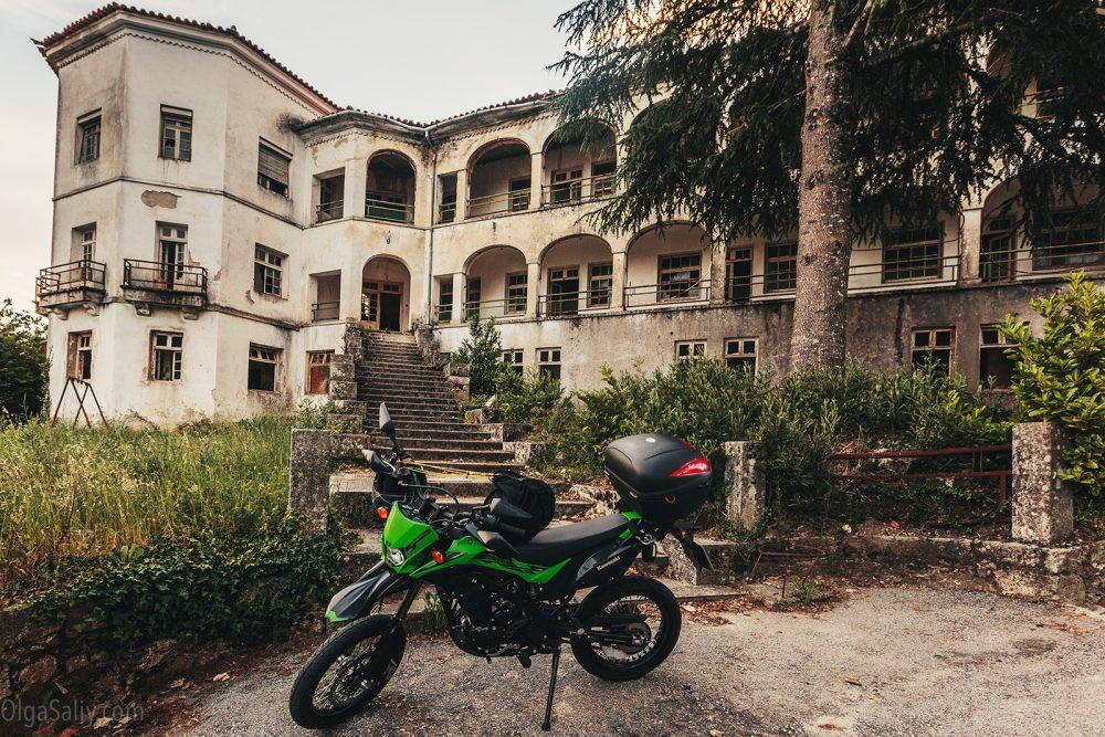 Motor trip in Portugal
