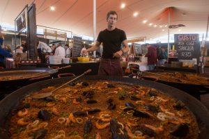 Saturday market at Woodstock, Cape Town