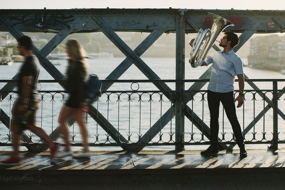 Music portrait Photo shooting in Porto, Portugal (2)