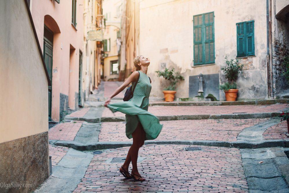 Italian, Bordugera photo shoot for Anastasia