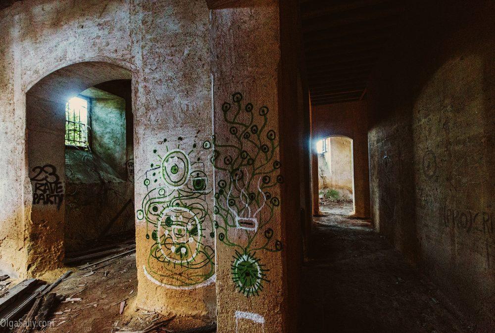 Abandoned castle of The Garbage King. Palácio do Rei do Lixo, Portugal (1)