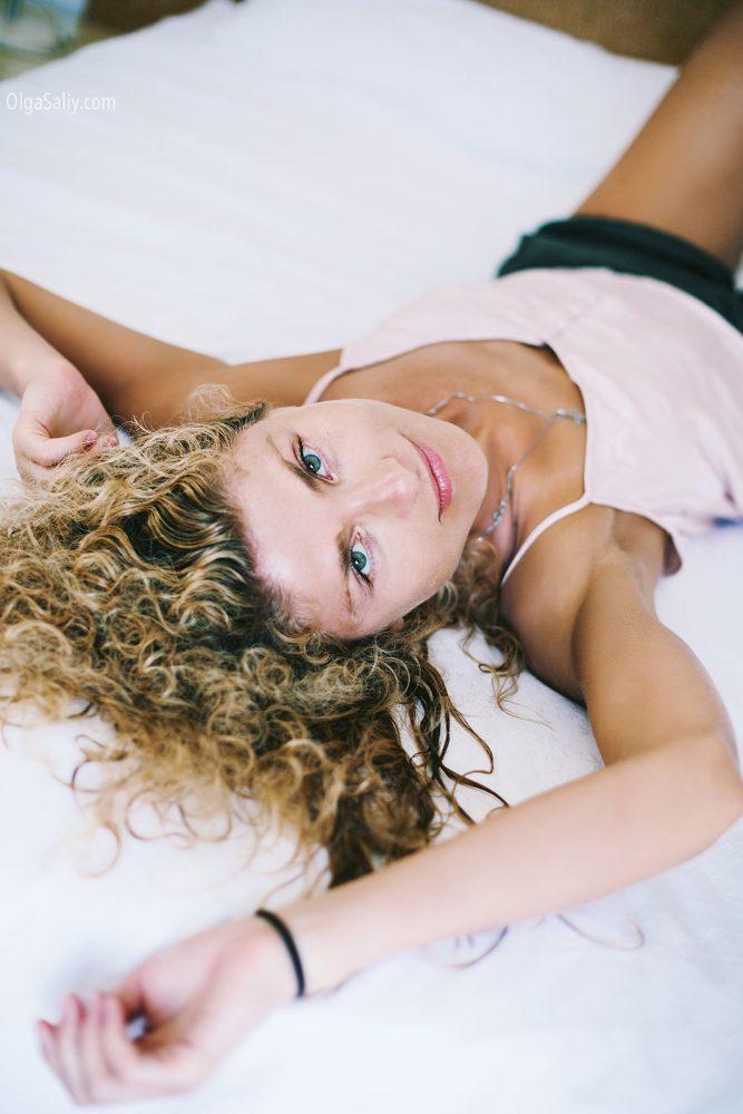 Italian photo shoot, portrait